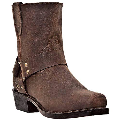 (Dingo Men's Rev Up Western Boot,Gaucho,14 EW US)