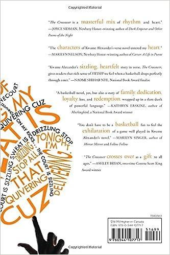 The Crossover: Kwame Alexander: 9780544107717: Amazon.com: Books