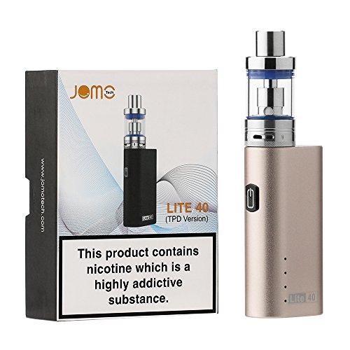 JOMO TECH E Cigarettes Lite 40W Box Mod Starter Kit Ego Ecig Shisha Vape...
