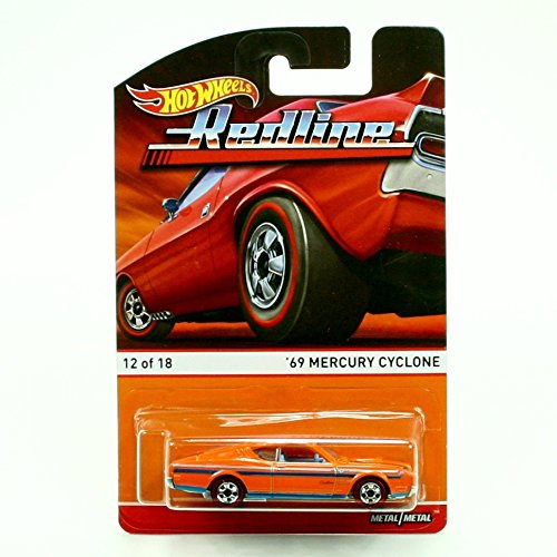 '69 MERCURY CYCLONE (12 of 18) * Redlines / Heritage Series * 2015 Hot Wheels 1:64 Scale Die-Cast Vehicle