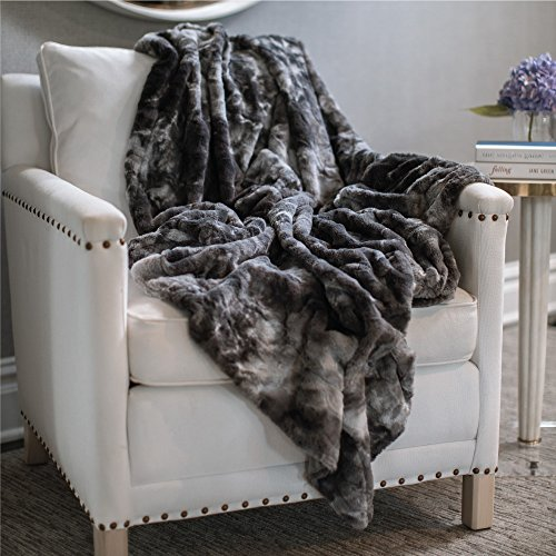 The Connecticut Home Company Original Luxury Faux Fur Throw