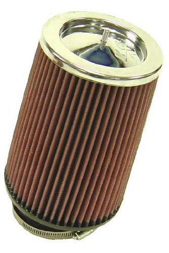 Base; 5 in Top K/&N Engineering Height; 5.75 in 89 mm Flange ID; 8 in 203 mm K/&N RF-1003 Universal Clamp-On Air Filter: Round Tapered; 3.5 in 146 mm 127 mm