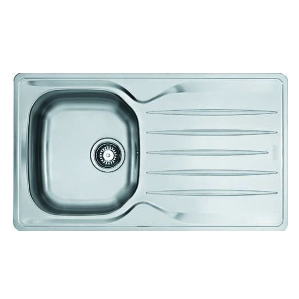 Franke LIN61186 86cm 1 Bowl Stainless Steel Kitchen Sink & Top Lever ...