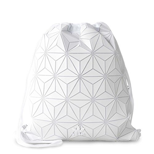 adidas Originals 3D White Geographic Shapes Gym Sack Bag BP BJ9572 by adidas