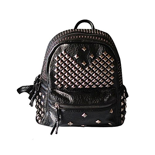 Girls PU Leather Mini Backpack Rivet Studded Cute Satchel, used for sale  Delivered anywhere in USA