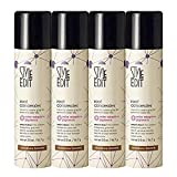 Style Edit Root Concealer Touch Up Spray | Instantly Covers Grey Roots | Professional Salon Quality Cover Up Hair Products for Women |Medium Brown, 2 Ounce (Pack of 4)