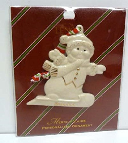 Lenox Personalized Ornaments - LENOX PERSONALIZED ORNAMENT MERRILY YOURS BRANDON