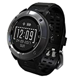 UWEAR GPS Running watch,IP68 Waterproof,Outdoor Sports Watch with HR,SOS,Compass,Barometer Altimeter,Return Cruise for Hiking Runner Smartwatch for iOS iPhone Android Samsung