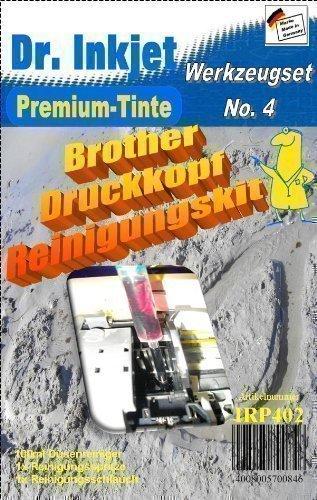 IRP402 - Dr. Inkjet Düsenreiniger, Druckkopfreiniger, Druckkopfreinigungskit f.Brotherdrucker Dr.Inkjet