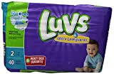Health & Personal Care : Luvs with Ultra Leak Guards Diapers, Size 2, 40 Count