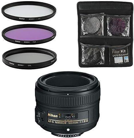 Nikon Objetivo - AF-S FX NIKKOR 50mm f/1.8G: Amazon.es: Electrónica