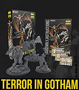 Knight Models Juego de Mesa - Miniaturas Resina DC Comics Superheroe - Batman - Terror in Gotham english: Amazon.es: Juguetes y juegos