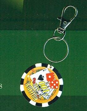 Llavero ficha de Poker: Amazon.es: Juguetes y juegos