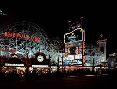 Photography Poster - Holiday Inn's Boardwalk Hotel and Casino in Las Vegas Ne...