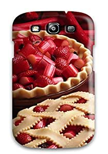 Snap-on Case Designed For Galaxy S3- Strawberry