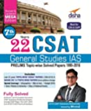 22 Years CSAT General Studies IAS Prelims Topic-wise Solved Papers 1995-2016