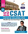 22 Years CSAT General Studies IAS Prelims Topic-wise Solved Papers (1995-2016) 7th Edition 7 Edition price comparison at Flipkart, Amazon, Crossword, Uread, Bookadda, Landmark, Homeshop18