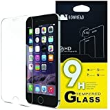 """iPhone 6 Screen Protector, Bowhead iPhone 6 Glass Screen Protector (4.7"""")- [Tempered Glass] 9H Hardness, Bubble Free, Also Works with iPhone 6s"""
