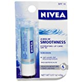 Nivea a Kiss of Smoothness Hydrating SPF 10 Lip Care, 0.17-Ounce Sticks (Pack of 3)