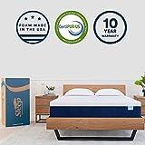 Sleep Innovations 12-Inch SureTemp Memory Foam Mattress 20-Year Warranty, King