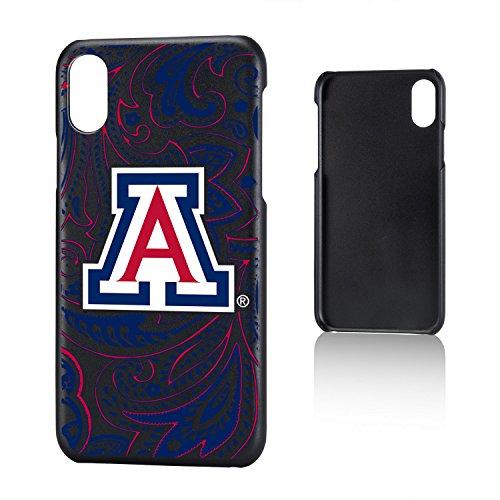 Keyscaper KSLMIX-UOFA-PAISL1 Arizona Wildcats iPhone X/XS Slim Case with U of A Paisley Design