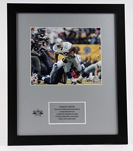Emmitt Smith #22 Dallas Cowboys 16x19 Custom Framed Photo Display - Smith 22 Emmitt Jersey