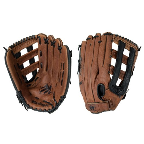 (MacGregor Mac Leather Fielders Glove Fits Right Hand)