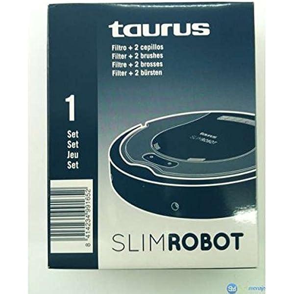Taurus - Set filtro+cepillo robot slimrobot: Amazon.es: Hogar