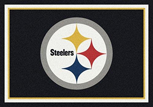 Pittsburgh Steelers NFL Team Spirit Area Rug by Milliken, 3'10