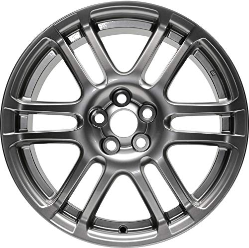 Partsynergy Replacement For New Replica Aluminum Alloy Wheel Rim 17 Inch Fits 05-10 Scion TC 12 Spokes 5-101.6mm