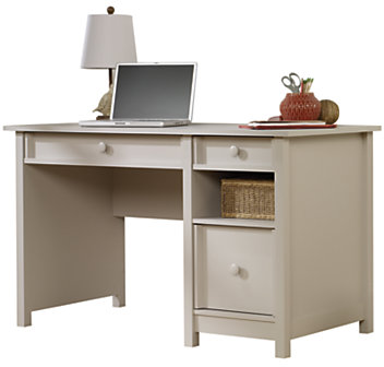 Sauder Cottage Desk 30 14 H x 52 12 W x 23 12 D Cobblestone Gray by Office Depot & OfficeMax