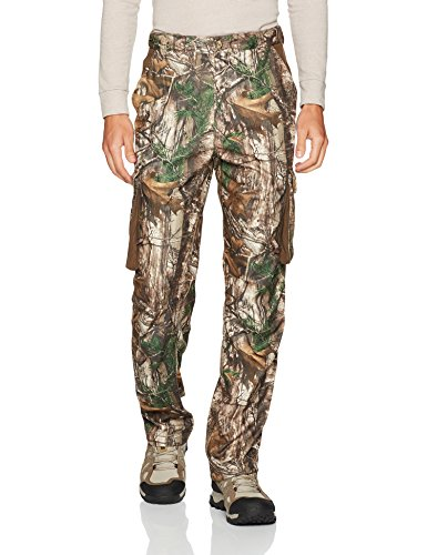 Rocky Men's Silent Hunter Siq Cargo Pants, Realtree Extra Camouflage, X-Large - Mens Suede Pants