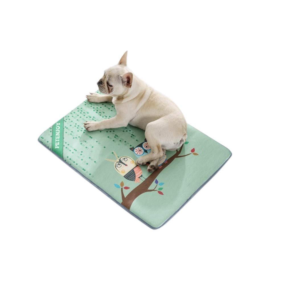 B Medium B Medium ZAIHW Pet Cooling Mat for Dogs & Cats Dog Accessories to Help Your Pet Stay Cool This Summer Avoid Overheating, Ideal for Home & Travel (color   B, Size   M)