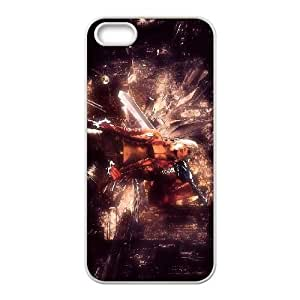 Devil May Cry 3 Dante'S Awakening 2 funda iPhone 5 5s caja funda del teléfono celular del teléfono celular blanco cubierta de la caja funda EEECBCAAB10115