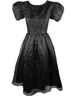 b0ac4a59ea9 LEJY 80s Prom Dresses for Women Puff Sleeve Short Homecoming Dresses 2018