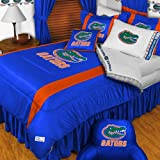 NCAA Florida Gators- 4pc BEDDING SET - Twin/Single Size