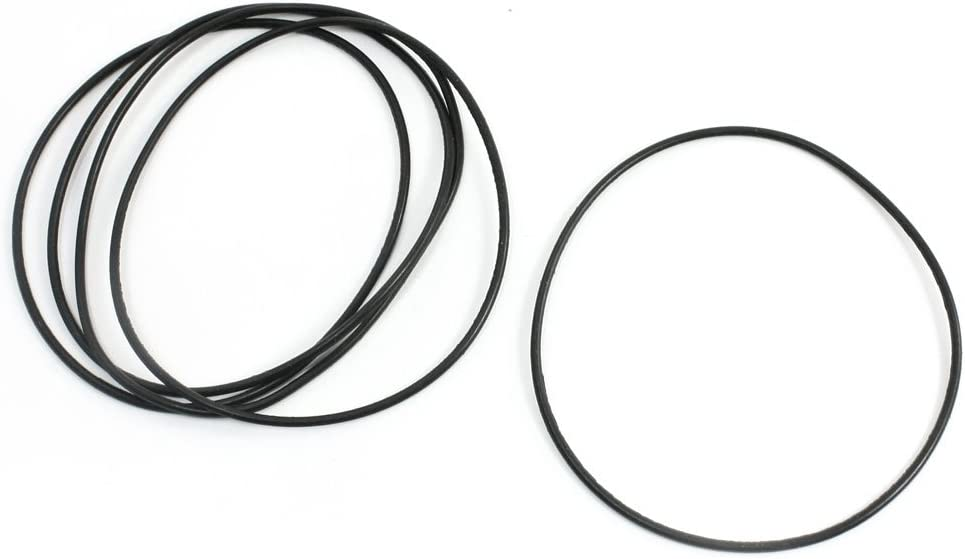 5/PCS 80/mm Externe Dia 2/mm St/ärke schwarz Gummi /Öl versiegelt O Ring
