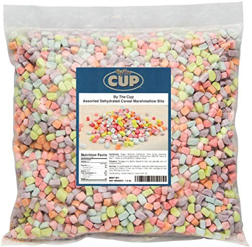 Assorted Dehydrated Cereal Marshmallow Bits 1.5 lb bulk bag (Lucky Cake Charms)