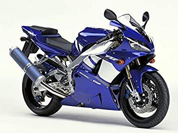 NT FAIRING Glossy Blue White Injection Mold Fairing Fit for Yamaha 2004 2005 2006 YZF R1 R1000 YZF-R1 New Painted Kit ABS Plastic Motorcycle Bodywork Aftermarket