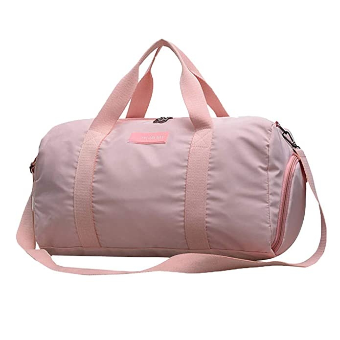 Amazon.com: Gym Bag for Women and Men Nylon Bag with Wet Pocket, Travel Gym Bag with Shoe Compartment Bag Large Capacity: Shoes