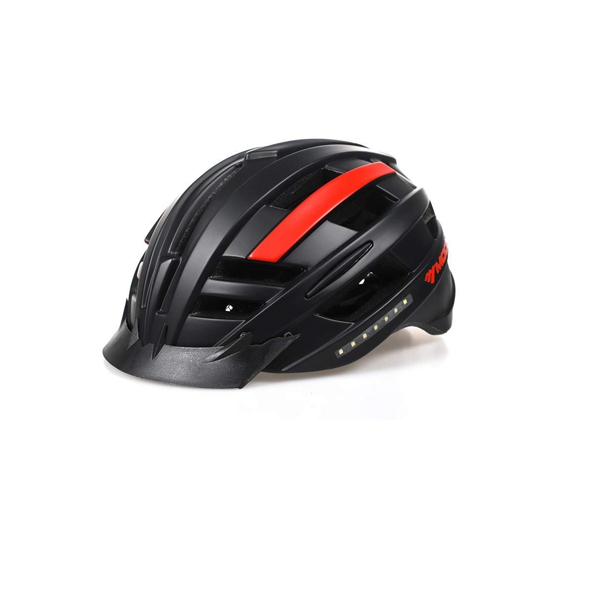 Shengshihuizhong Smart Music Helmet, Self-propelled Helmet, Built-in Reinforced Skeleton for Added Protection - Adult Size, Comfortable, Lightweight, Breathable (with Turn Signal, Can Be Connected to