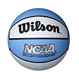 Killer Crossover Basketball, Carolina Blue/White, Intermediate 28.5-Inch