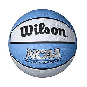 Killer Crossover Basketball, Carolina Blue/White, Intermediate 28.5-Inch