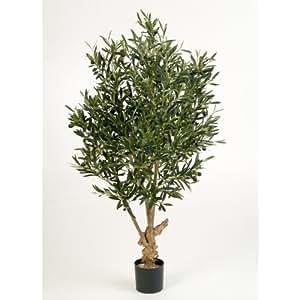 Olivo artificial en maceta 2290 hojas 70 frutos 120 cm - Olivo en maceta ...