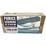 Pumice Stone Toilet Bowl Cleaner - 4 Pack of Pumice Stones Scouring Sticks - Pool Pumice Stone Tile Cleaner - Removes Rust Lime Calcium - Natural Product