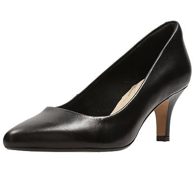 Clarks Damen Isidora Faye Pumps38 EUSchwarz (Black Leather)