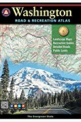 Washington Road and Recreation Atlas (Benchmark Recreation Atlases) Paperback