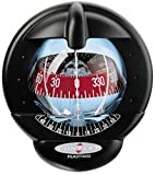 NAUTOS 25483 - CONTEST 101 COMPASS-MOUNT INCLINED 10 TO 25 DEGREES-BLACK BEZEL WITH RED CARD- PLASTIMO 64418