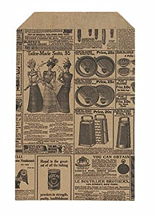 Amazon.com: 50 QTY 6 x 9 Periódico papel de impresión bolsas ...