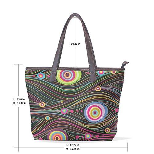 Multicolore TIZORAX femme l'épaule pour Sac à à porter 8r80B76